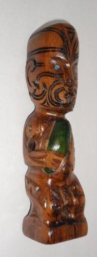 M05027 - Maori Hand-Carved Small Teko Teko Small