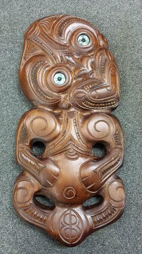 M05046 - Maori Hand-Carved Xtra Large Tiki