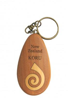 M09022 - Keychain Inset Icon Koru