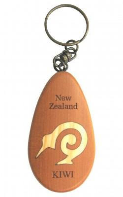 M09024 - Keychain Inset Icon Kiwi