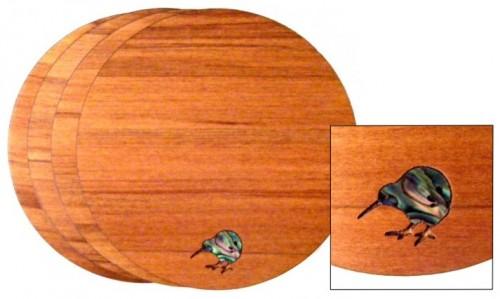 M09045 - Rimu Coaster Set - Kiwi