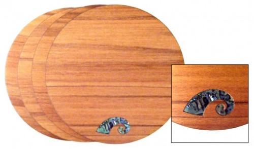 M09046 - Rimu Coaster Set - Koru