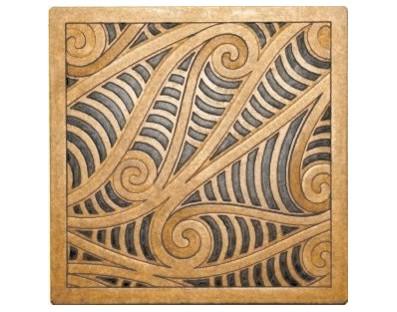 M09122 - Tile Art - Kowhaiwhai - design Rua