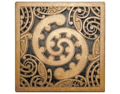 M09123 - Tile Art - Kowhaiwhai - design Toru