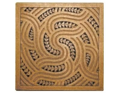 M09124 - Tile Art - Kowhaiwhai - design Wha