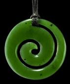 M01879 - Jade/Greenstone Carving Koru