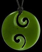 M01887 - Jade/Greenstone Carving Koru