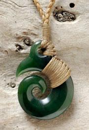 M06558 - Jade/Greenstone Carving Brosnan Koru