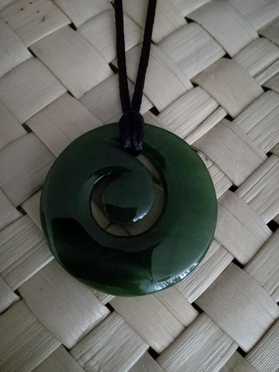 M07296 - Jade/Greenstone Carving Koru