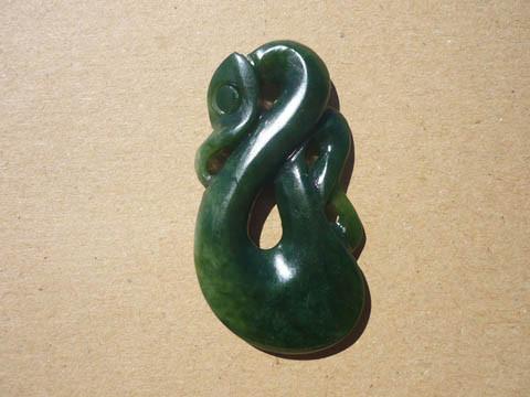 M07409 - Jade/Greenstone Carving Manaia